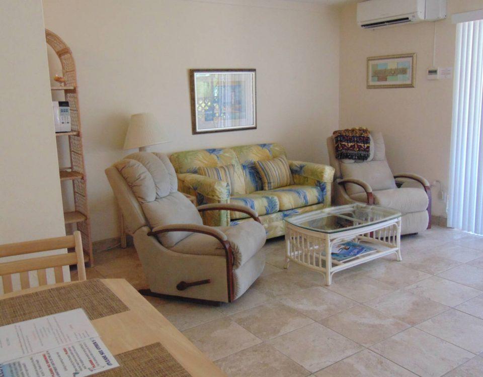 Unit 24A Living Room
