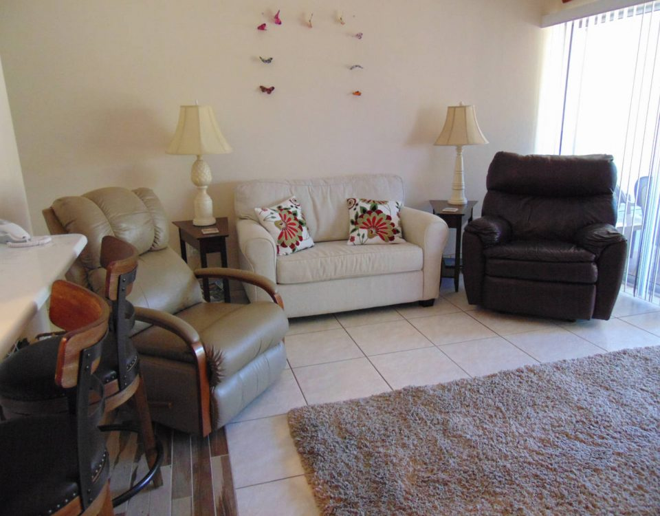Unit 25 Living Room