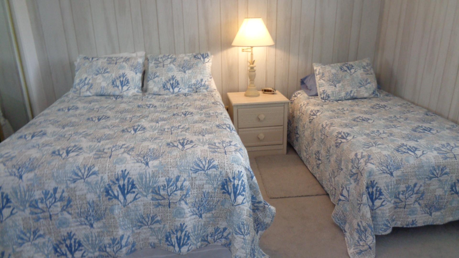 Unit 19 Twin Beds