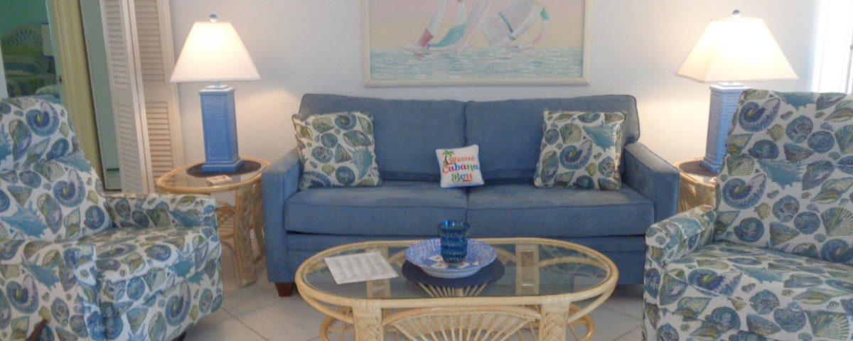Unit 8 Sofa and Living Room